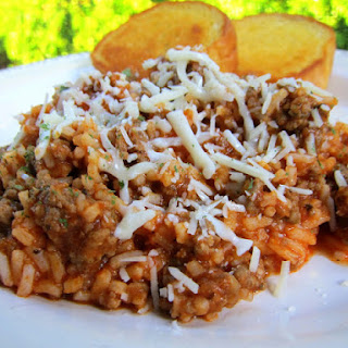 Brown Rice And Spaghetti Sauce Recipes.