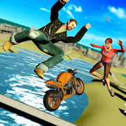 Grand Gangster Crazy Bike Stunts