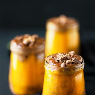 Healthy Halloween Pumpkin Chocolate Potion.