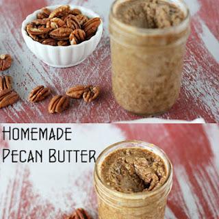 Homemade Pecan Butter.