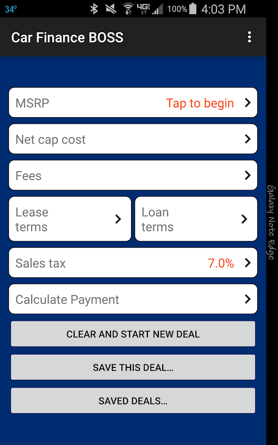 Car Lease and Loan Calculator Android Apps on Google Play – Lease Payment Calculator