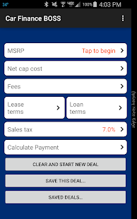 Car Lease Calculator >> Car Lease And Loan Calculator Apps On Google Play