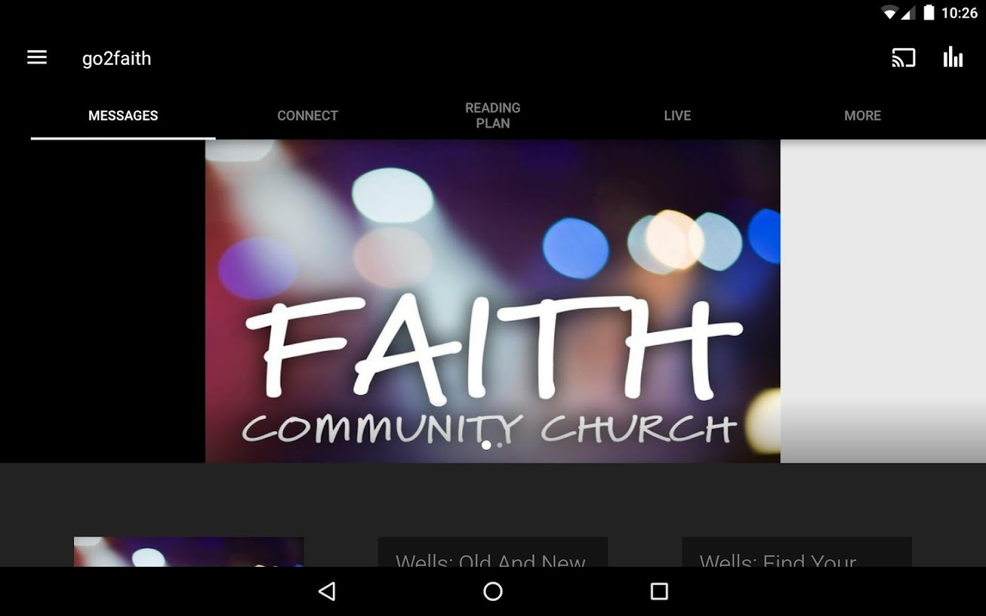 Faith App- screenshot