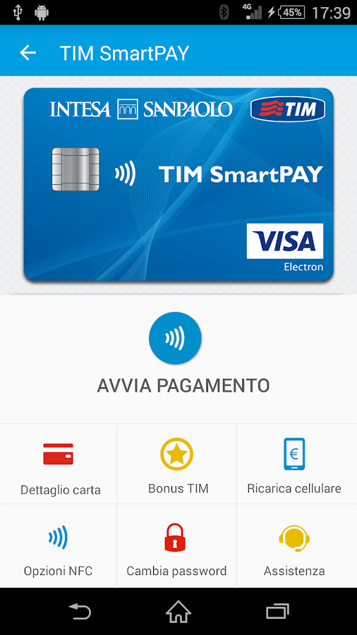 TIM Wallet- screenshot