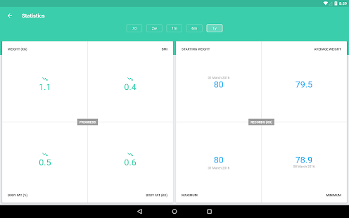 Download BMI and Weight Tracker For PC Windows and Mac apk screenshot 9