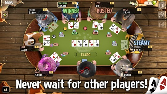 Governor of Poker 2 – OFFLINE POKER GAME 7