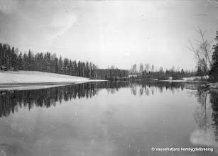 Photo: Ekstan vid utloppet ur Sörsjön i Flögfors 1930-tal