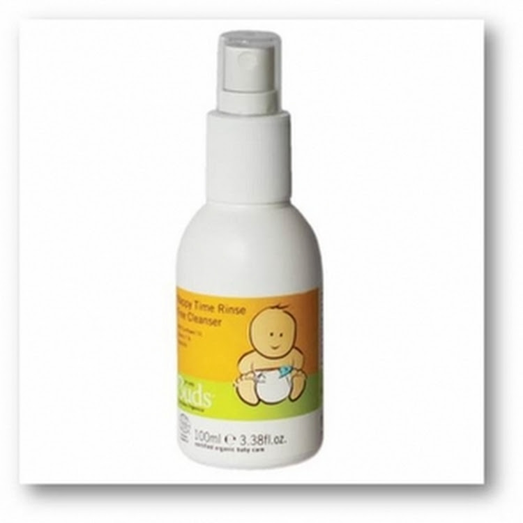 BUDS EVERYDAY ORGANICS Nappy Time Rinse Free Cleanser 100ml by GREEN WHEEL INTERNATIONAL SDN BHD