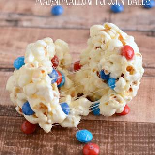Marshmallow Popcorn Balls.