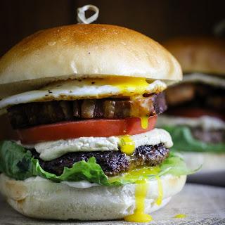 """The Barnyard"" Burger."