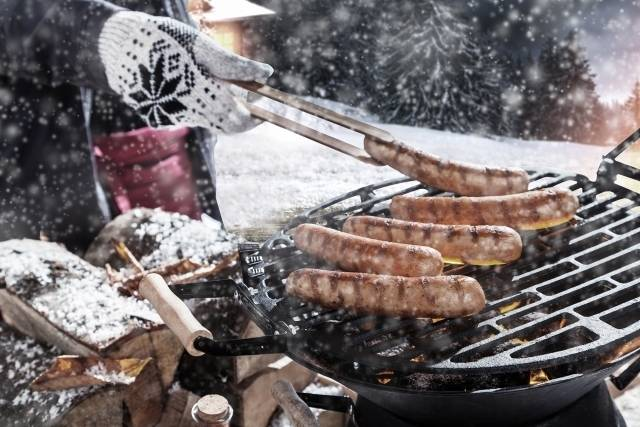 Party Winter - BBQ - winter barbecue aan huis