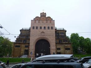 Photo: Letem, kyjevským světem. Takže toto je Zlatá Brána.