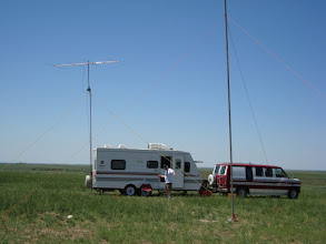 Photo: KR7LD, ex KC7ESB FD2009 Setup. didn't work on person on 6 meters, too busy on 40 and 15..