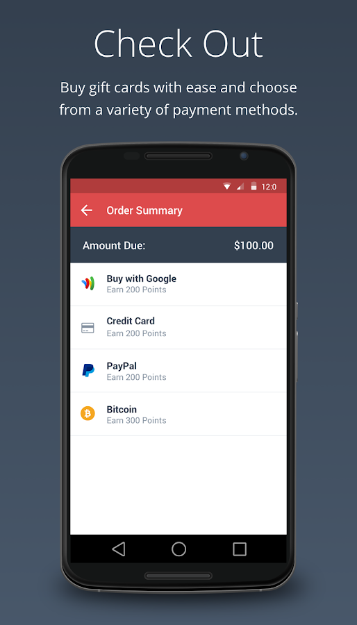 Gyft - Mobile Gift Card Wallet- screenshot