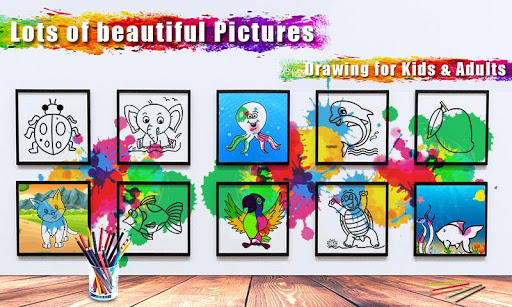 Coloring Book & Drawing book -  Coloring Games 1.0.2 screenshots 3