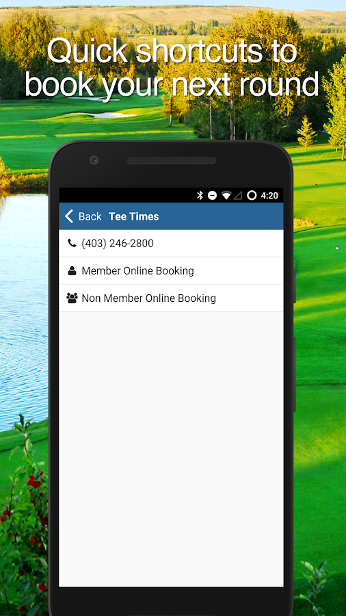 Elbow Springs Golf Club- screenshot