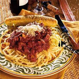 Sicilian Spaghetti Sauce.