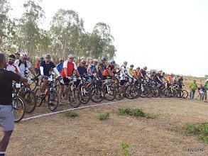 Photo: The startline had 63 riders!