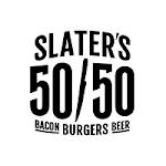 Logo for Slater's 50/50 Las Vegas