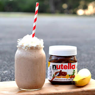 [BLOCKED BY STBV] Banana Nutella Smoothie - The Nutella Blog.