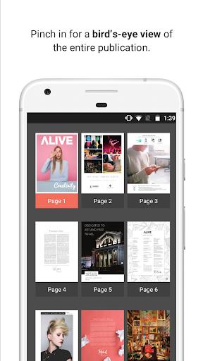 issuu - Read Magazines, Catalogs, Newspapers. Screenshot