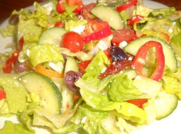 Rick's Favorite Greek Salad Recipe