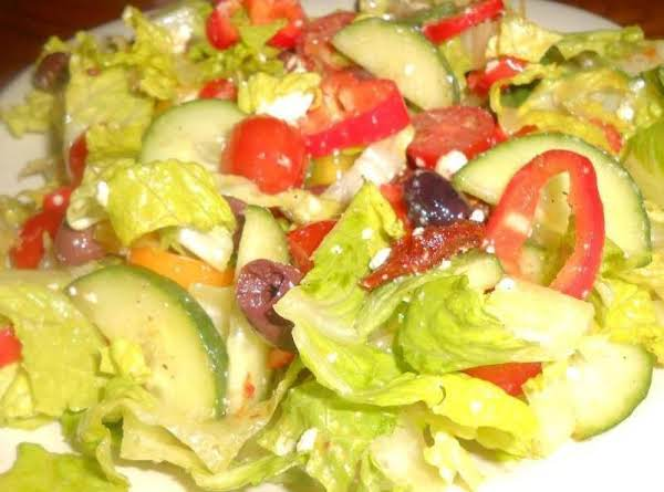 Rick's Favorite Greek Salad Recipe