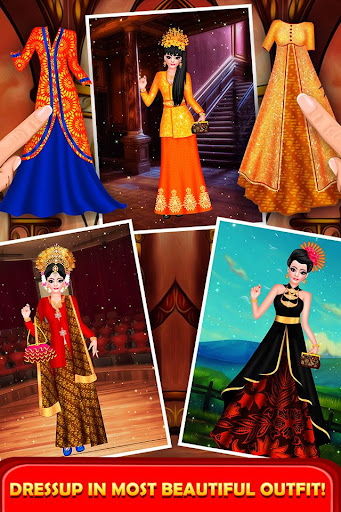 Indonesian Doll Fashion Salon Dress up & Makeover 2.0 screenshots 4
