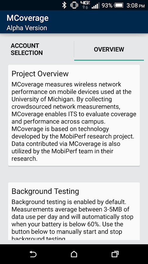 MCoverage- screenshot