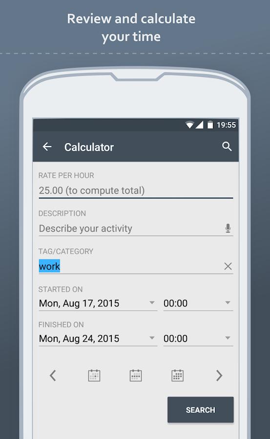 Time Meter Time Sheet- screenshot