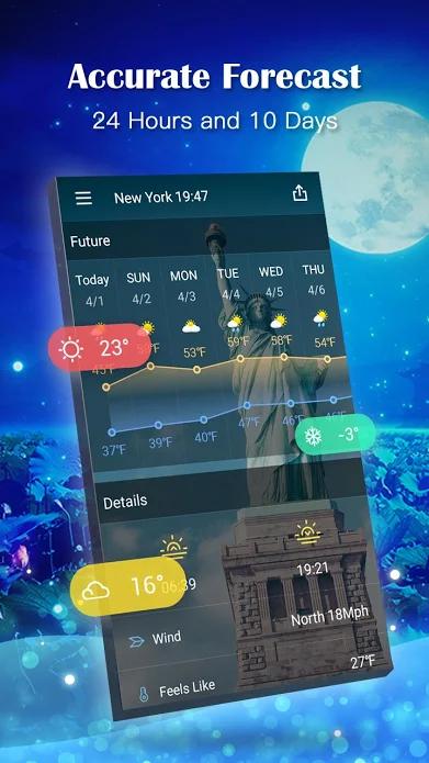 Weather Forecast Pro Screenshot 0