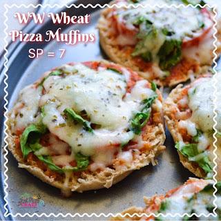Wheat Pizza Muffins.