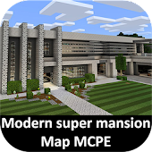 Mansion House Map for MCPE