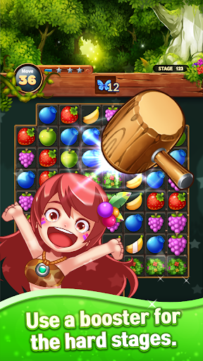 Sweet Fruit POP : Match 3 Puzzle apkmr screenshots 6
