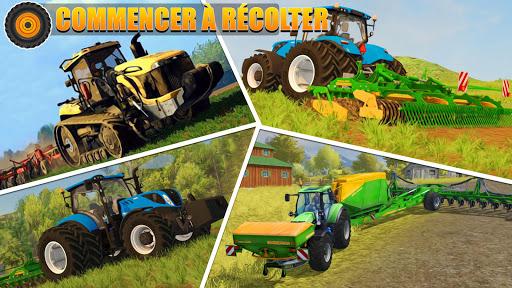Code Triche Tracteur agricole pilote: village Simulator 2019 apk mod screenshots 5