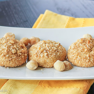 Browned Butter Lemon Cookies with Macadamia Nuts Recipe
