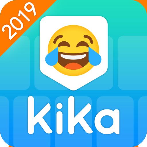Kika Keyboard 2019 - Emoji Keyboard, Stickers, GIF Icon