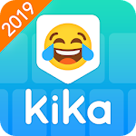 Kika Keyboard 2019 - Emoji Keyboard, Emoticon, GIF Icon