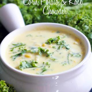 Corn, Potato, and Kale Chowder