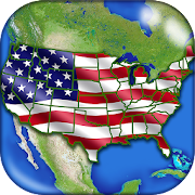 Game US Geography Quiz – American Geo Quiz Trivia APK for Kindle