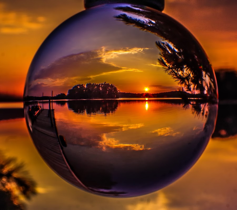 Have you dreamed today? by Jackie Hartleben - Artistic Objects Glass ( water, nature, sunsets, sunset, summer, nature up close, sunrise, landscape, sun )