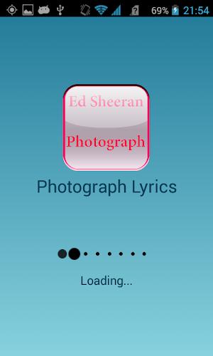 Download Ed Sheeran Photograph Lyrics APK latest version app
