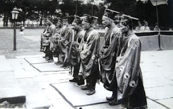 Photo: Trang phục quan văn trong lễ tế Nam Giao