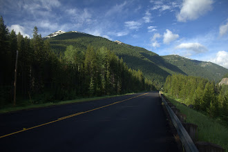 Photo: At the southern boundary of Glacier National Park