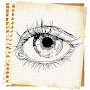 Tutorial Drawing Anime Eyes APK icon