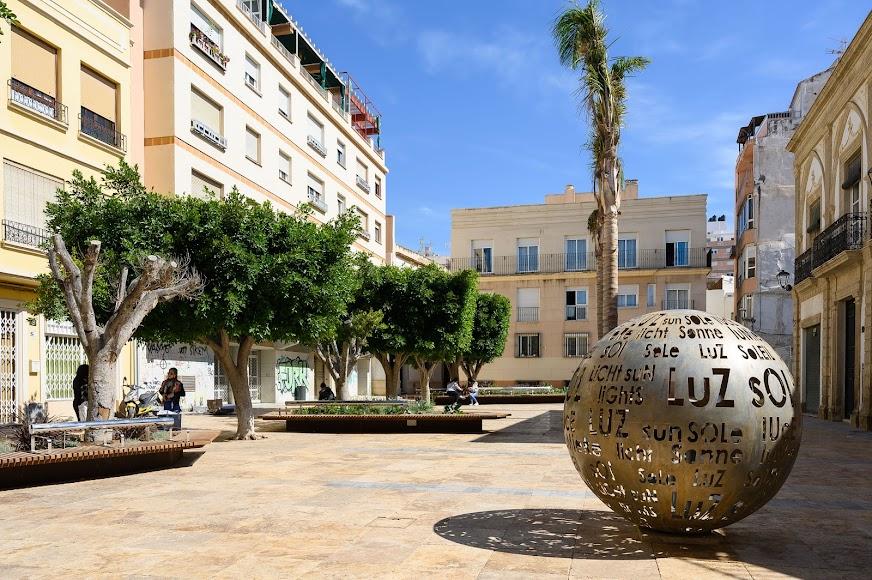 Imagen de la Plaza Careaga después de la intervención realizada a través de los fondos DUSI