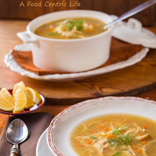 Fast and Flavorful Chicken Rice Soup