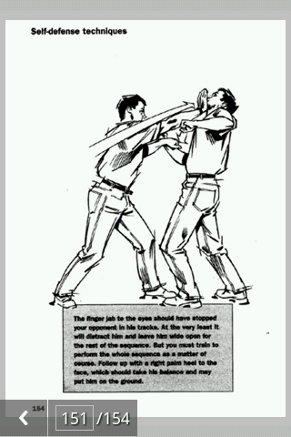 Self defense techniques pdf