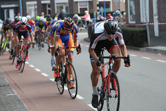 Photo: Ronde van Dongen - Omnium Nieuwelingen,24 september 2017.Dongen