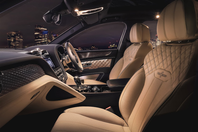 The lap of luxury becomes even more luxurious.